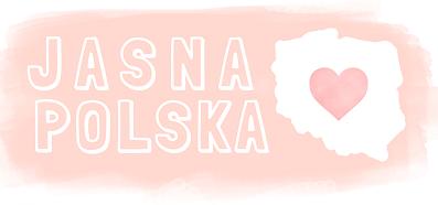 jasna polska logo logotyp różowe serce