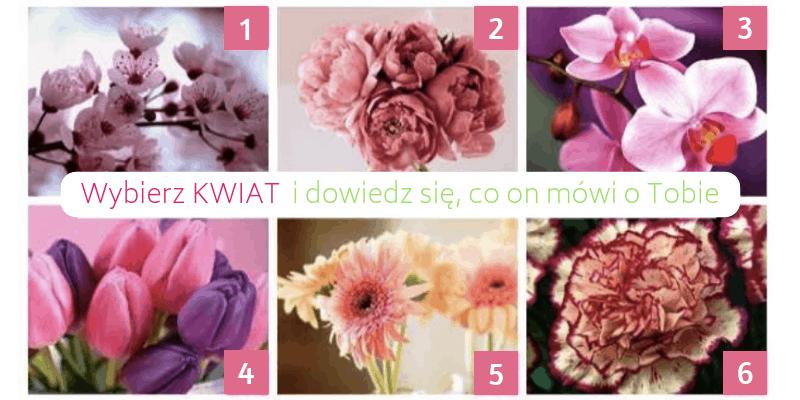 Wybierz kwiat i dowiedz się co to mówi o Tobie - przepowiednia na Nowy Rok