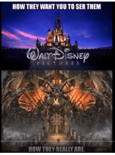 Porno Disney, illuminati Disney, czyli wybieraj świadomie
