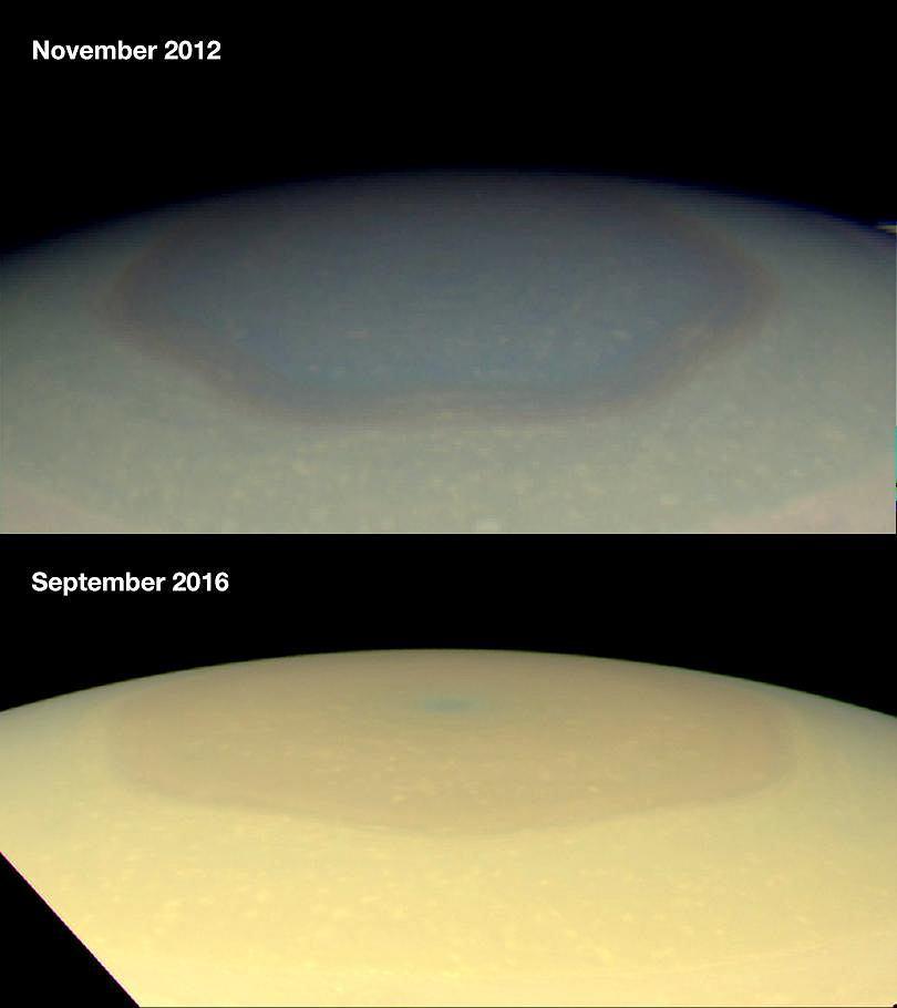 Obca cywilizacja, UFO, życie na Saturnie ? - Dziwne rzeczy, które pokazała sonda Cassini, a które potwierdzają Indianie wielu kultur i australijscy policjanci