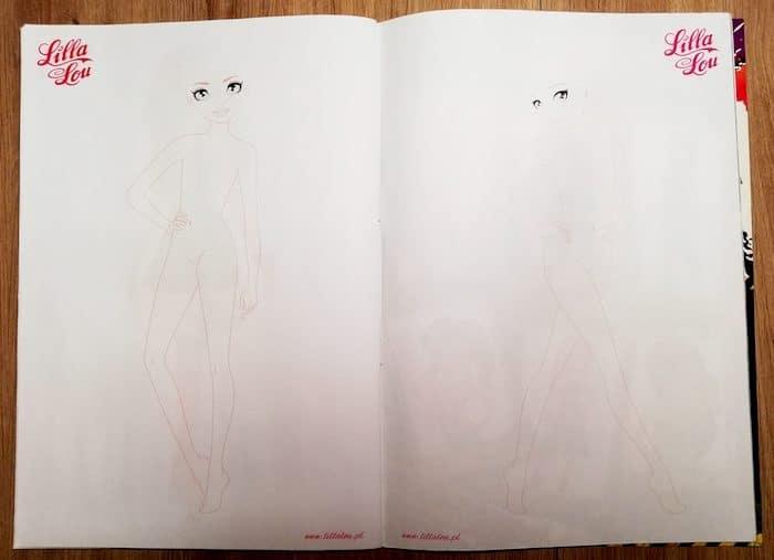 Nietypowa technika medytacji - Narysuj Siebie. Pomoże Ci w tym specjalna kolorowanka. Kolorowanki do druku, Lilla Lou, rysowanie, malowanki
