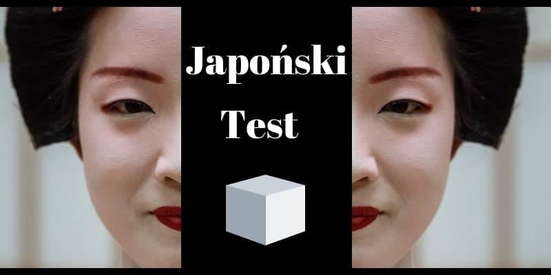 Japoński test sześcianu z efektem wow – kokologia