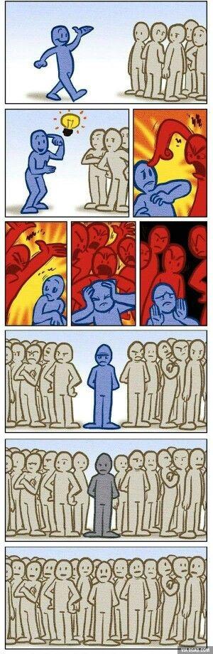 Jak przestać się bać oceny i krytyki innych? Co ludzie powiedzą! Cóż, to nie Twój interes…